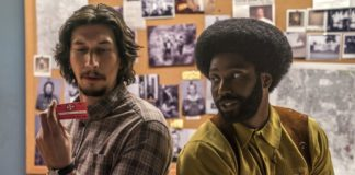 trailer di blackkklansman