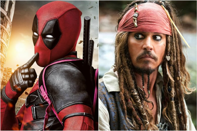 Deadpool - Jack Sparrow