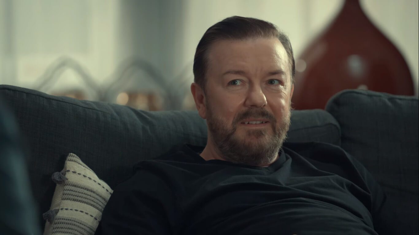 Ricky Gervais come Tony in After Life